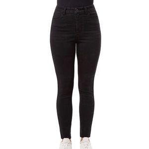 No Boundaries juniors black straight leg jeans